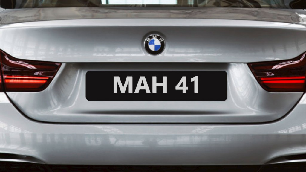 Enjoy your new car with a private number plate..