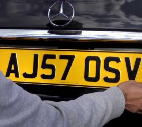 Enjoy your new car with a private number plate,